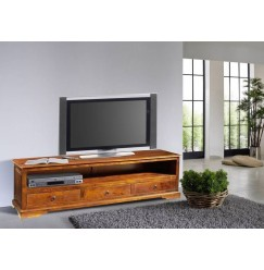 CAMBRIDGE HONEY TV stolík 176x50 cm, akácia